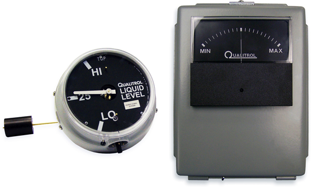 Digital Indicators With Remote Read : Sm systems qualitrol liquid level remote oil